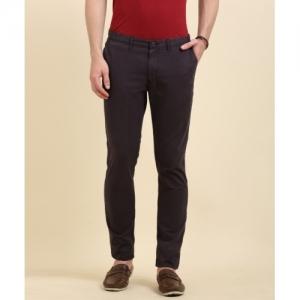 Indian Terrain JACOV Skinny Fit Men Brown Trousers