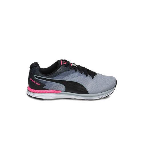 Puma Speed 300 IGNITE Women Grey Running Shoes