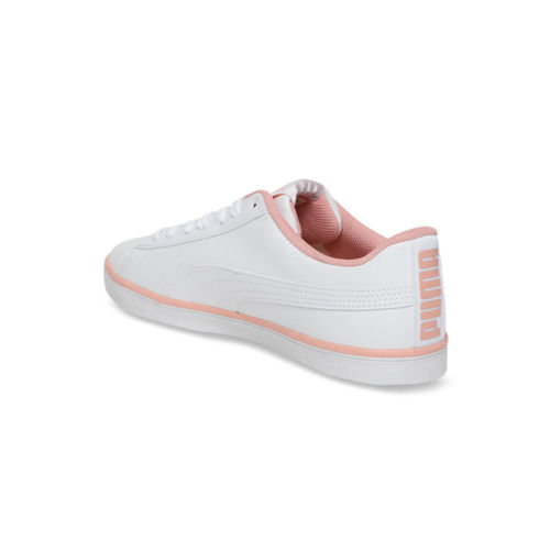 Puma Unisex White Urban Plus SL Sneakers