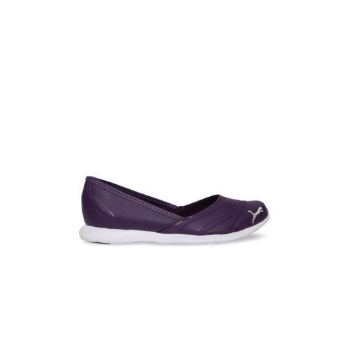 Puma Women Purple Slip-On Puma Vega Ballet SL IDP Sneakers 36488608