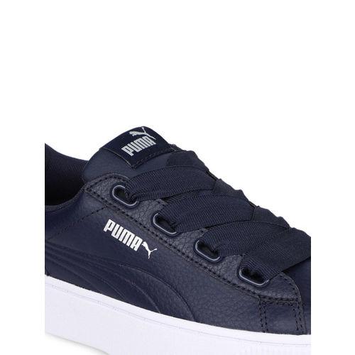Puma Women Navy Blue Sneakers