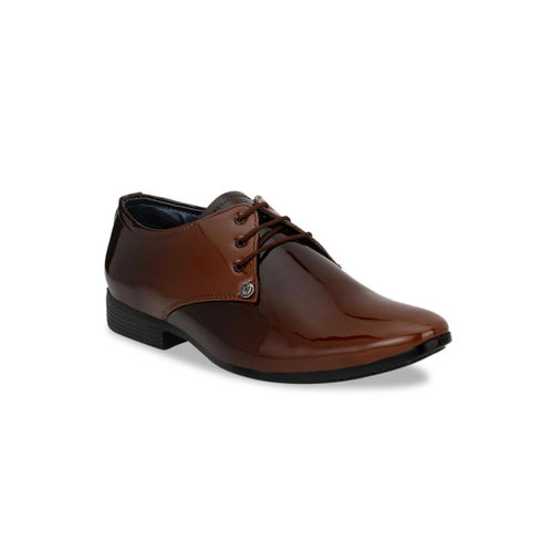 Ferraiolo Men Brown LaceUp Formal Brown Shoe