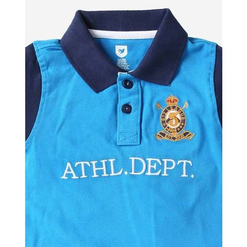 612 League Typographic Print Polo T-shirt