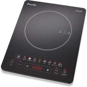 Preethi Indicook Excel Plus IC 117 Induction Cooktop(Black, Touch Panel)