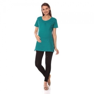e981a2f5c066f Goldstroms Half Sleeves Maternity Top Heart & Star Design - Green. ₹839  FirstCry. Home · Women · Clothing · Maternity Wear. Kriti Western ...