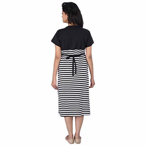 MomToBe Women's Hosiery Maternity Dress
