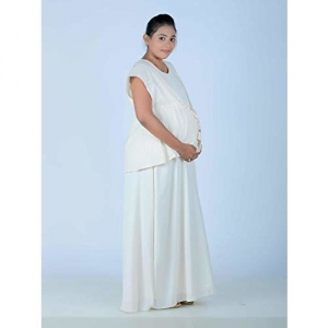 5bbd27643c91a Ziva Maternity Wear Maternity and nursing full gown with Hakoba Jacket