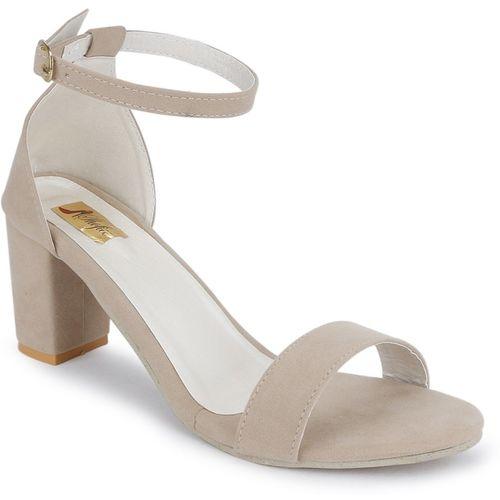 SHOFIEE Women Off White Heels