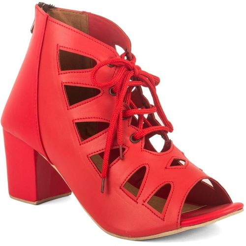 Cute Fashion Women Red Heels