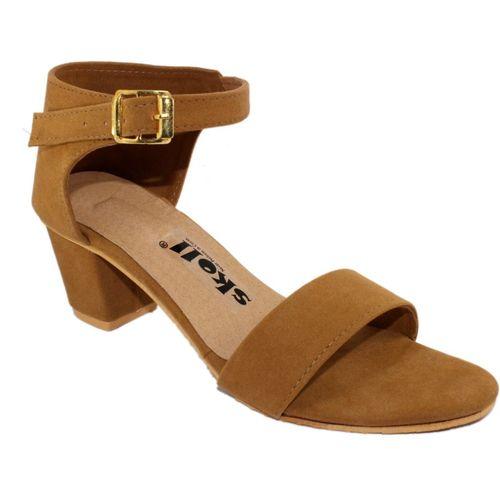 Skoll Women Tan Heels
