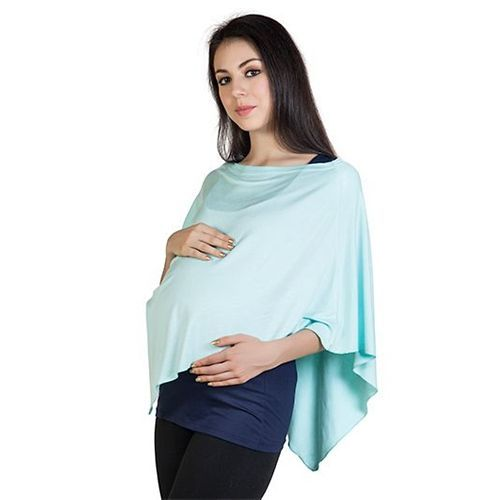 Blush 9 Nursing Wrap Mint Blue