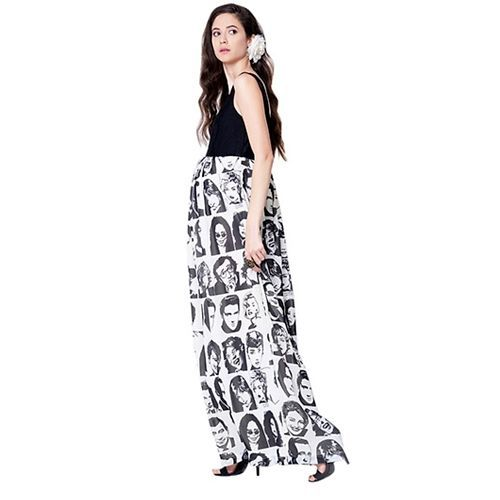 Mamacouture Maternity Dress - Black & White