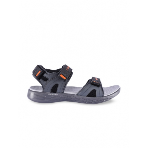 Campus Men Grey Sports Sandals