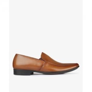 EGOSS Textured Slip-On Formal Shoes