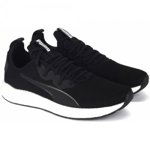 Puma NRGY Neko Sport Wn's Black Lace-Up Running Sports Shoes