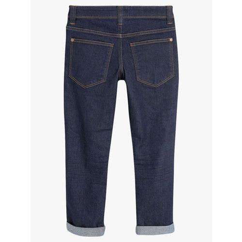 next Blue Slim Fit Mid-Rise Clean Look Jeans