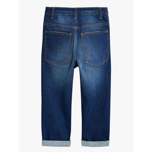 next Boys Blue Skinny Fit Mid-Rise Clean Look Jeans