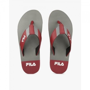 FILA Colorblock Thong-Strap Flip Flops