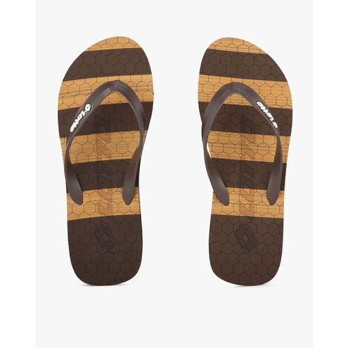 LOTTO Printed Thong-Strap Flip-Flops