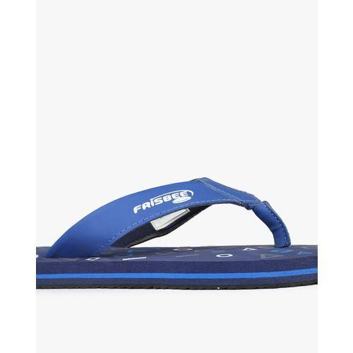 FRISBEE Printed Thong-Style Flip-Flops