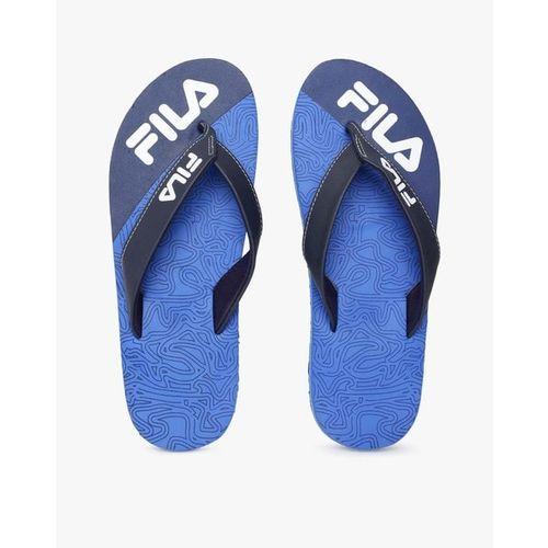 FILA Printed Thong-Strap Flip-Flops