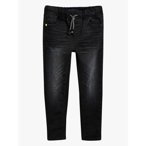 next Black Slim Fit Mid-Rise Clean Look Jeans