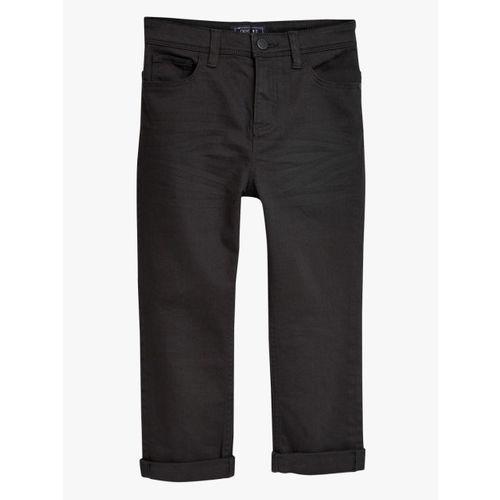 next Boys Black Slim Fit Mid-Rise Clean Look Jeans