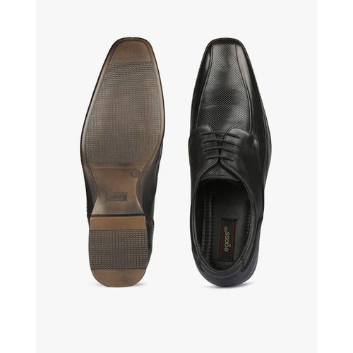 EGOSS Panelled Derby Formal Shoes