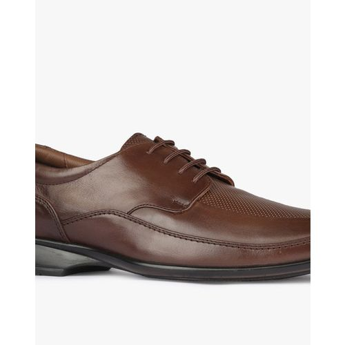 EGOSS Panelled Derby Formal Shoes