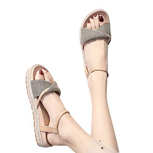 Lailailaily Summer OpenToe Thick Bottom Sponge Cake Sandals