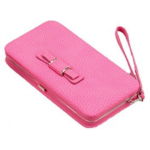 BANQLYN Party Pink Clutch Wallet