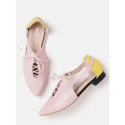 Lavie Women Pink Colourblocked Casual Shoes