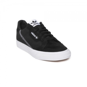 ADIDAS Originals ADIDAS Unisex Black Continental Vulc Sneakers