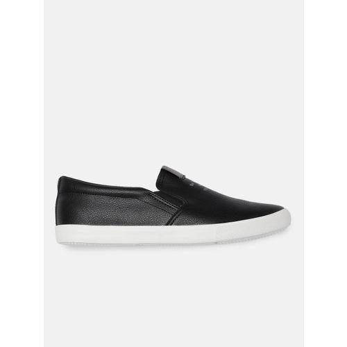 Kook N Keech Women Black Slip-On Sneakers