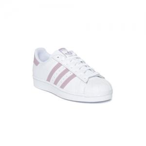 ADIDAS Originals White Leather Regular Sneakers