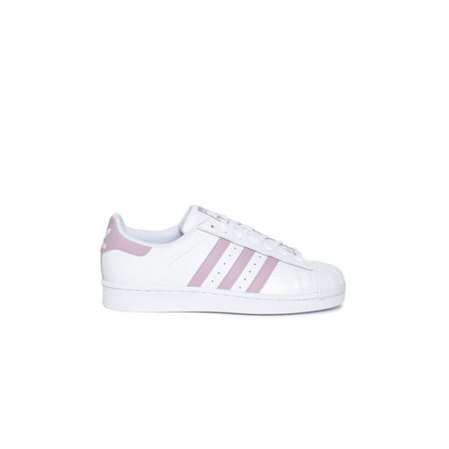 ADIDAS Originals White Leather Regular Sneakers