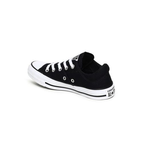 Converse Black Canvas Regular Sneakers