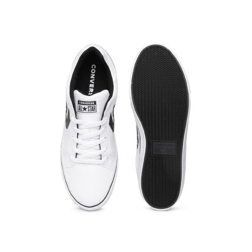 Converse White Synthetic Regular Sneakers