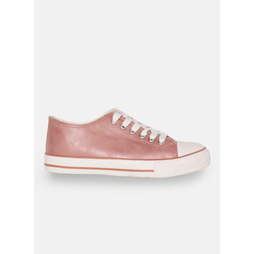 DressBerry Pink Synthetic Regular Sneakers