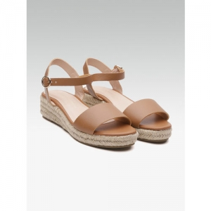 DOROTHY PERKINS Women Brown Solid Wedges
