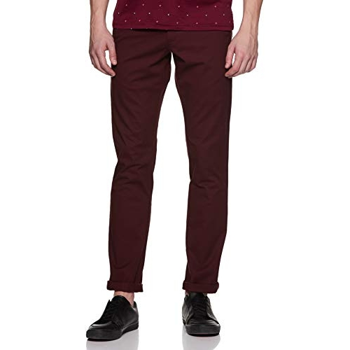 Allen Solly Men's Chino Casual Trousers