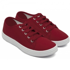 Asian Red PU VL-11 Casual Shoes