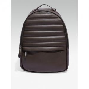 WROGN Brown Solid Backpack