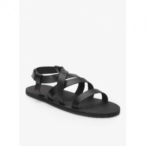 United Colors of Benetton Black Sandals