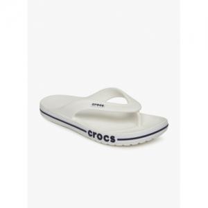 Crocs White Thong Sliper