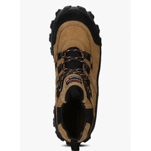 Woodland Camel Brown Outdoor Shoes