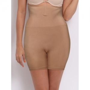 Enamor The Hourglass Collection Skin Coloured Seamless Hi-Waist Thigh Shapewear