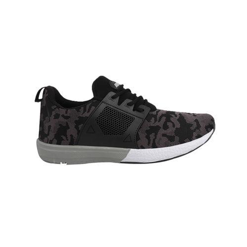 Chevit Men's 448 Sports Shoes (Walking Shoes) Running Shoes For Men (Black)