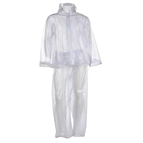 Kavish Men's Transparent PVC Rain Coat