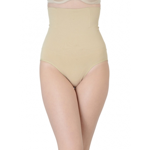 Da Intimo Beige Shaper Nylon Elastane  Brief